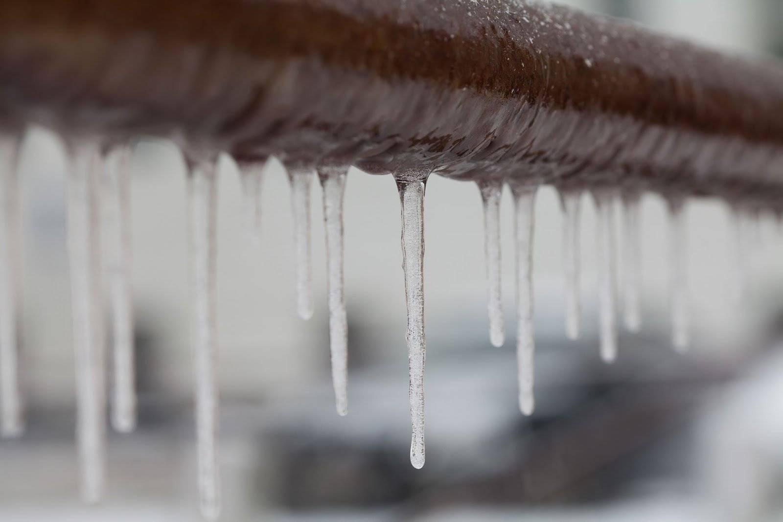 Frozen Boiler Pipe