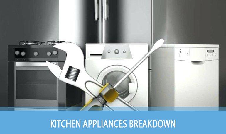 4 Ways to Prevent Kitchen Appliances Breakdown Featured Image