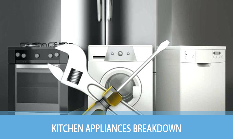 kitchen appliances breakdown