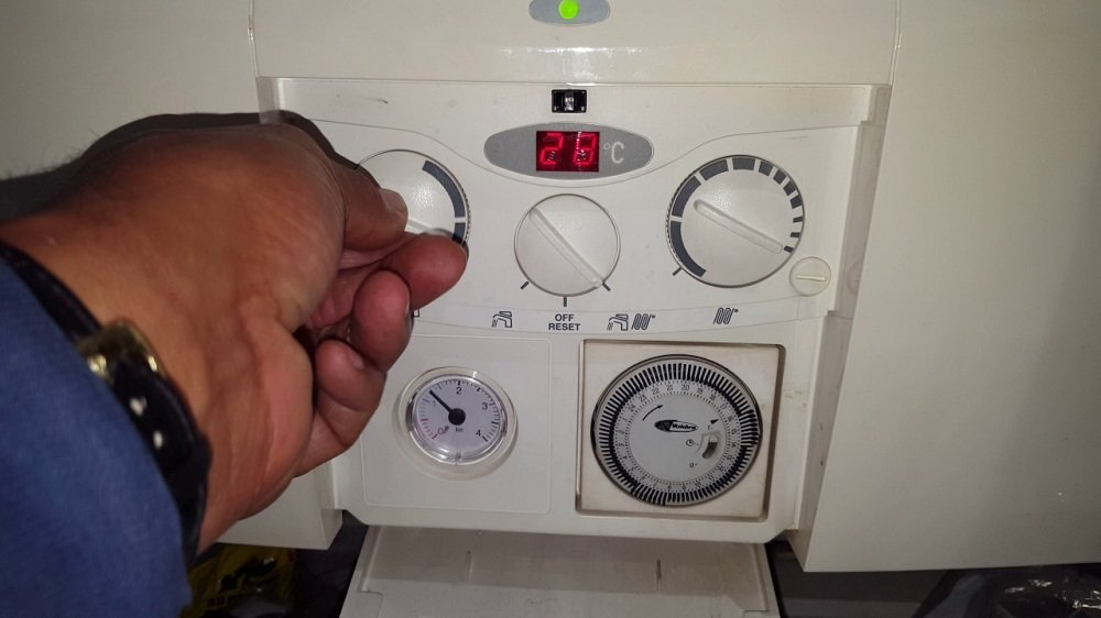 Boiler is Working But No Hot Water