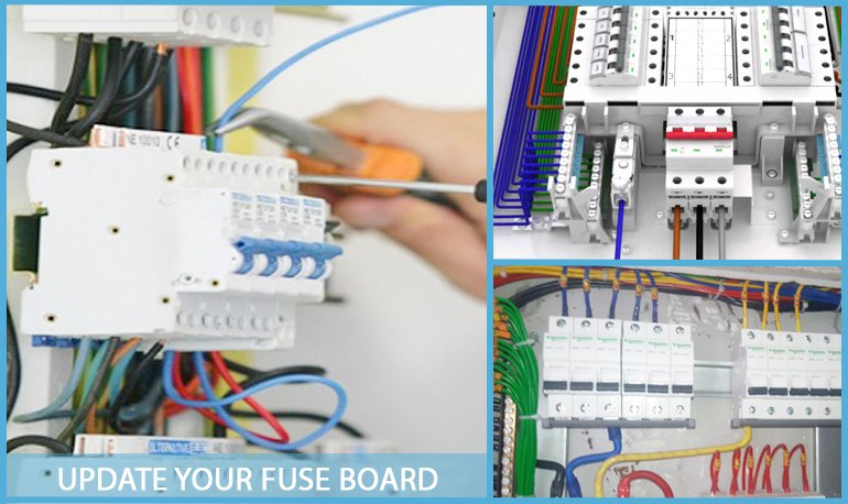 How to Know that You Need to Update a Fuse Board Image