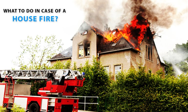 What to Do in Case of a House Fire? Featured Image