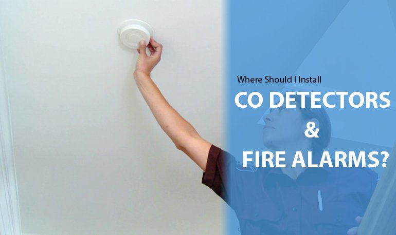Where Should I Install CO Detectors And Fire Alarms? Featured Image