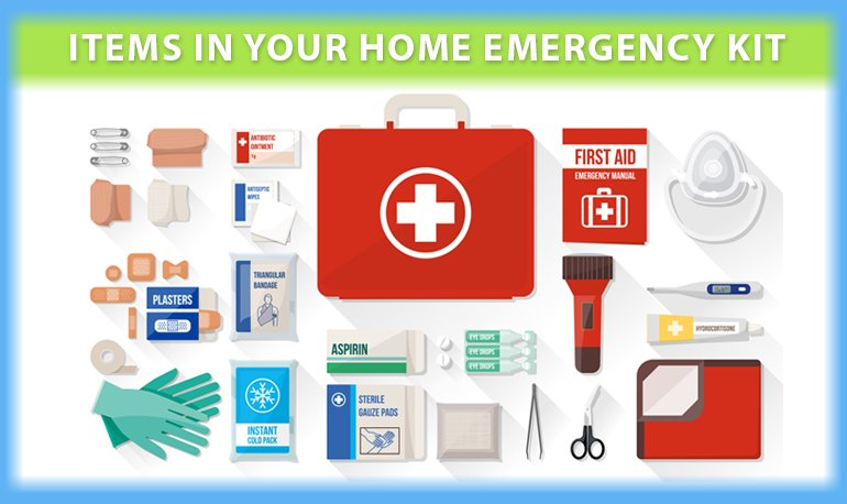 5 Must-Have Items in Your Home Emergency Kit Image