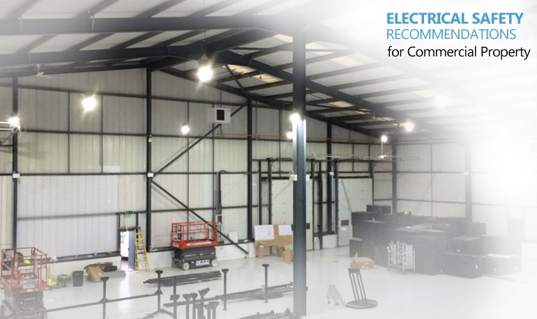 6 Electrical Safety Recommendations for Commercial Property Featured Image