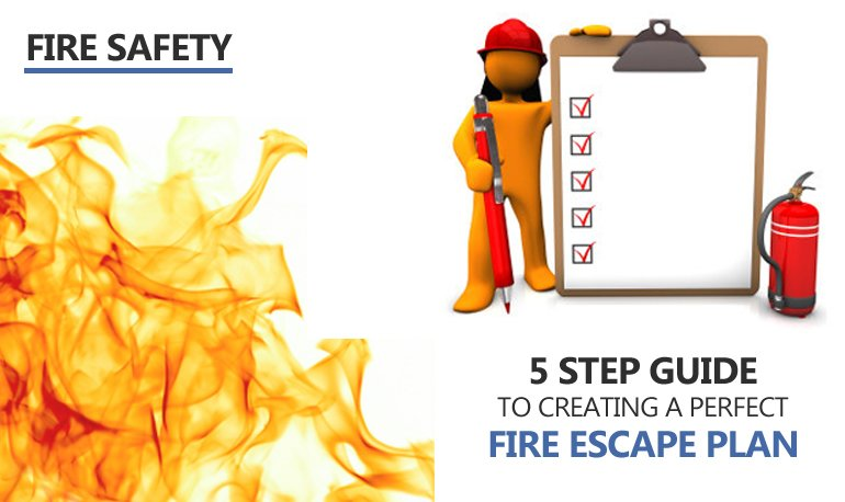 5 Step Guide to Creating a Perfect Fire Escape Plan Featured Image