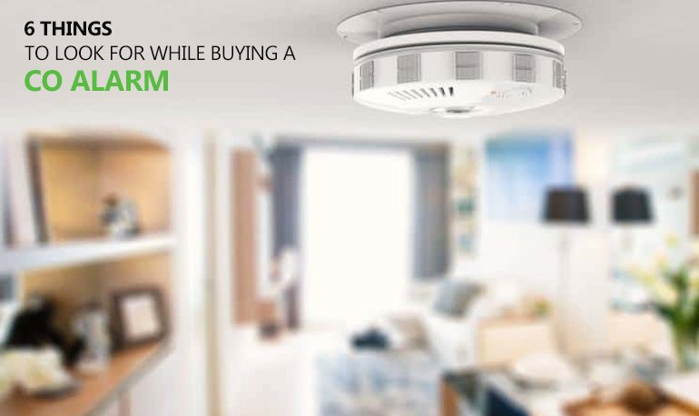 6 Things to Look for while Buying a CO Alarm Featured Image