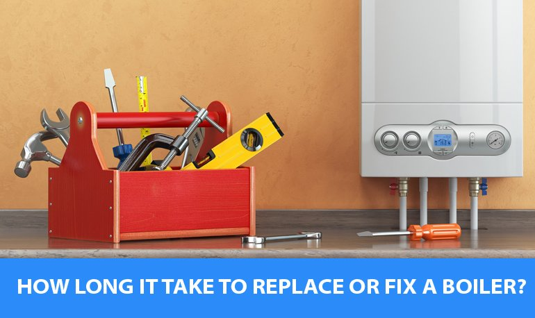 How long it Take to Replace or Fix a Boiler? Featured Image
