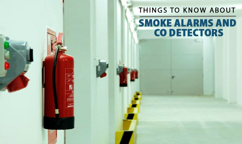 Things to Know About Smoke Alarms and CO Detectors Featured Image