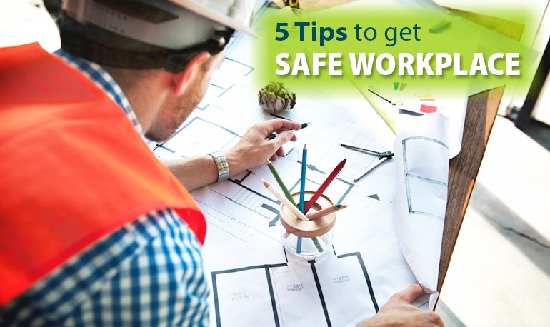 5 tips to Get Safe Workplace by Preventing Accidents Featured Image