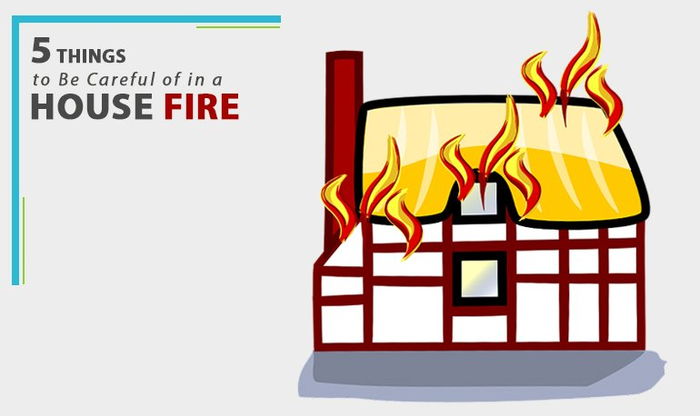 5 Things to Be Careful of in a House Fire Featured Image